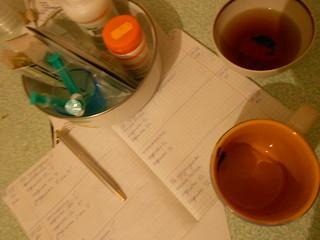 проснулись выпили чаю дали лекарста
