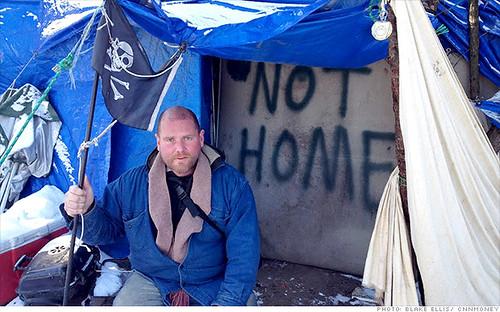 Camden, NJ homeless man Aaron Howe