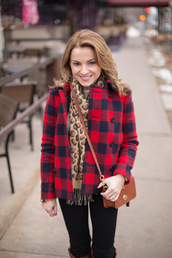 Buffalo Plaid + Leopard