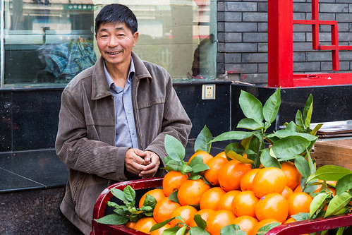 Faces of China Series: Street vendor by andiwolfe