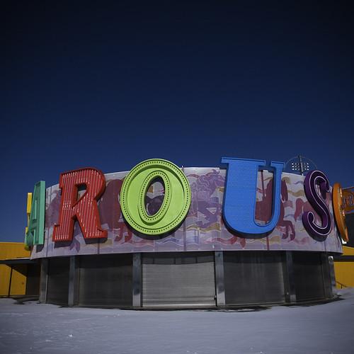 Snowed In Carousel, Coney Island