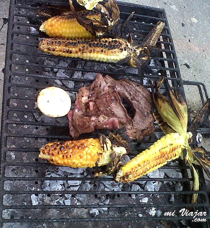comidas callejeras colombianas, mazorca