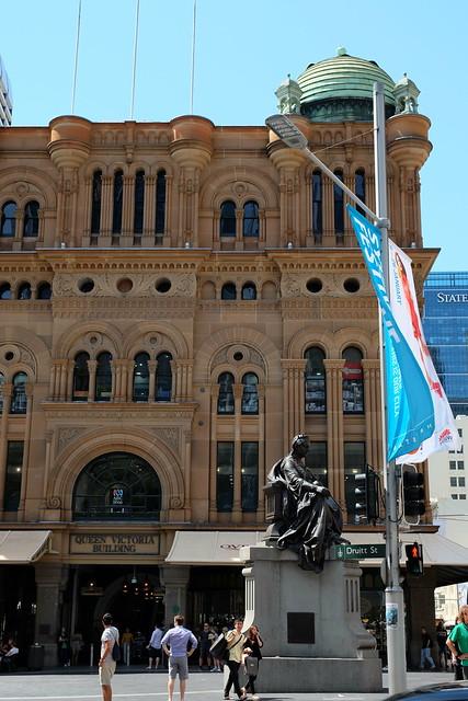exterior Queen Victoria Building (QVB) 01