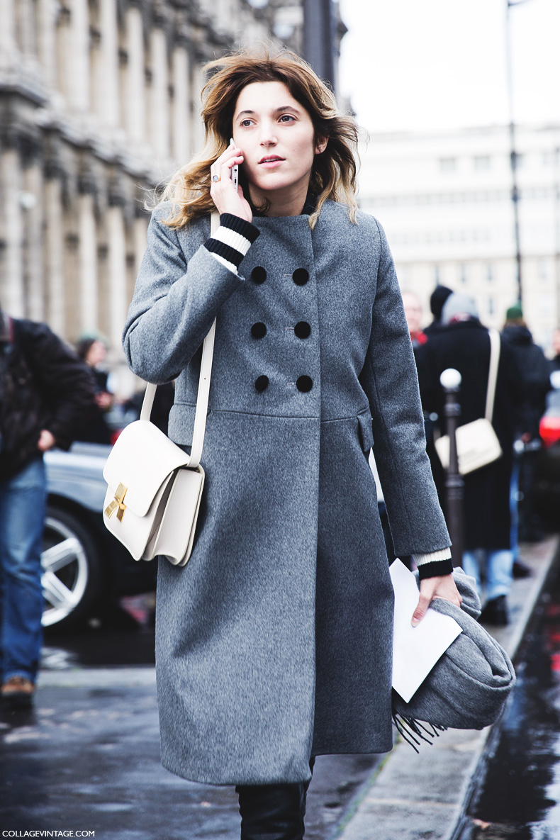 Street Style At Paris Fashion Week Autumn Winter 2014 2015 Part 2 The Wonderful World Of Fashion