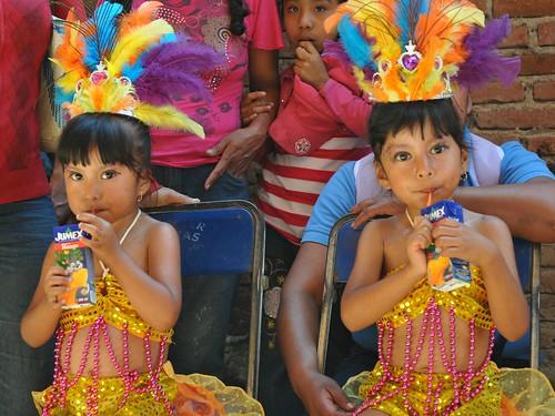 Samba Princesses Oaxaca Mexico