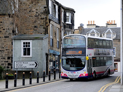 Some of these 55 plates were delivered new to Dalkeith depot as an attempt to improve Midlothian services . However, vandalism and other issues resulted in these buses being exchanged for Royales. ...
