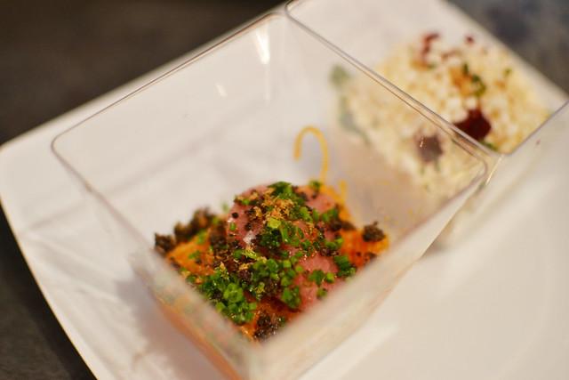 Umami (Black Truffle, Toro, Rice Noodles, Shrimp Powder), Savour 2014