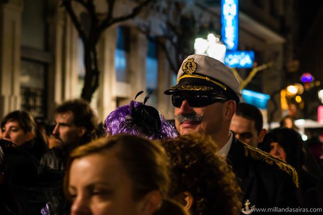 Entierro de la sardina en Ourense