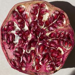 pomegranate, purple, maroon, fruit, food,