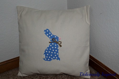 Bunny Pillow - stand alone
