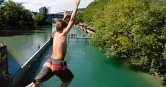 Koupání ve městech – v řekách a jezerech