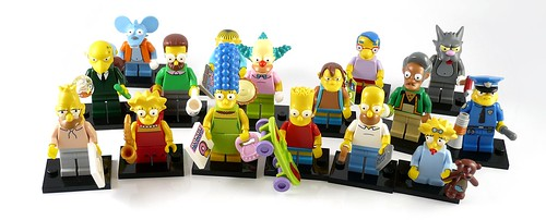 71005 LEGO Minifigures The LEGO Simpsons Series figures