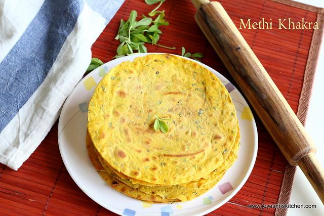 Methi-Khakra