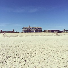 Latergram from Bridgehampton. Private beach FTW.