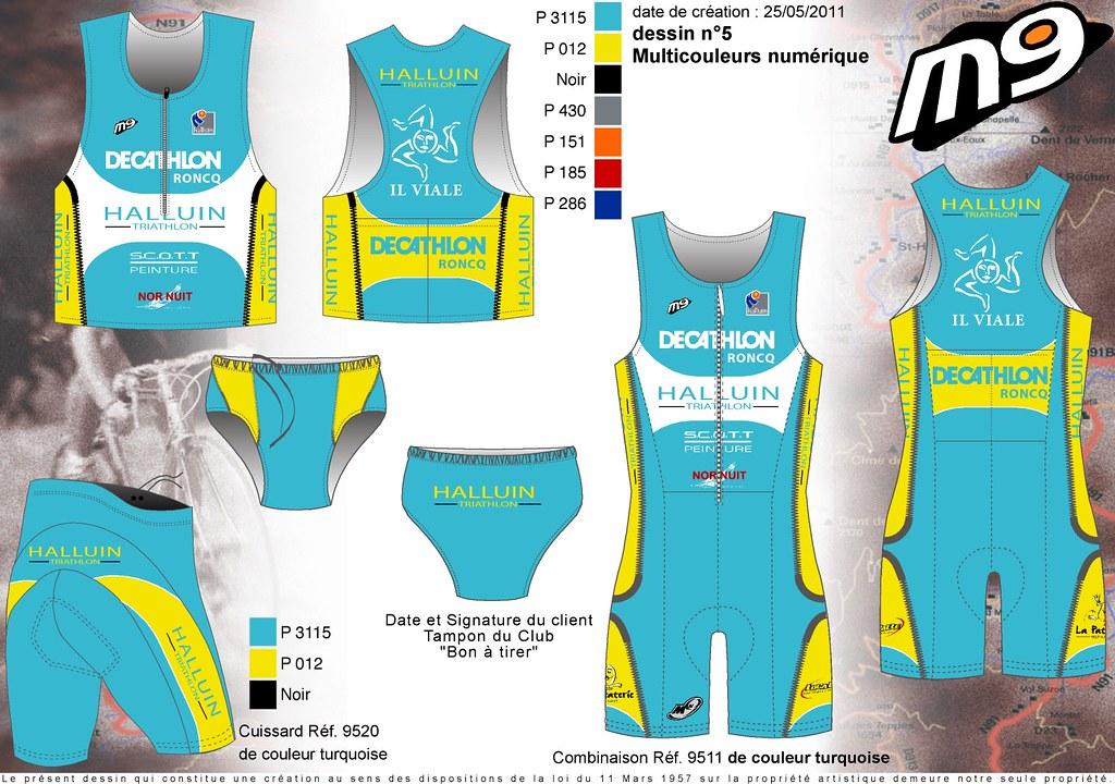 59ol5-Halluin Triathlon