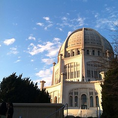 House of Worship at sunset yesterday. Perfect. #latergram