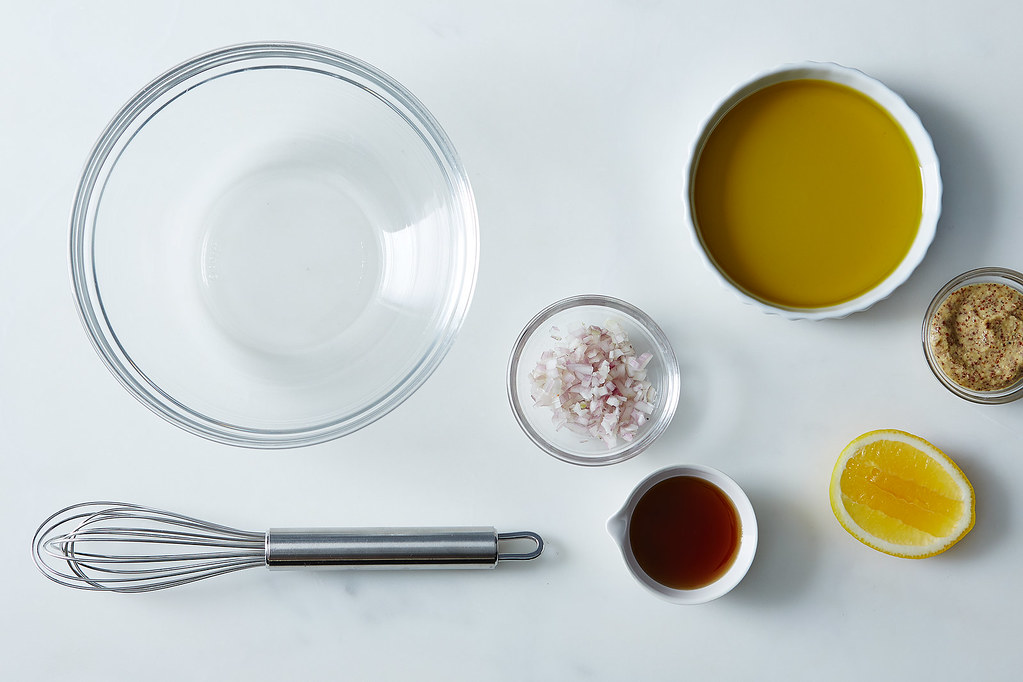 How to Make a Vinaigrette Without a Recipe