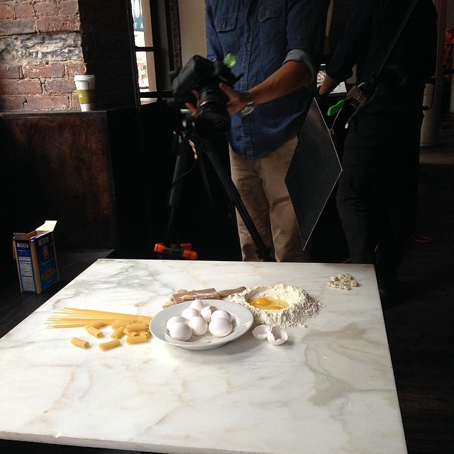 On set for @chefmarcmurphy cookbook shoot. The amazing Cedric Angeles shooting. Stunning light.
