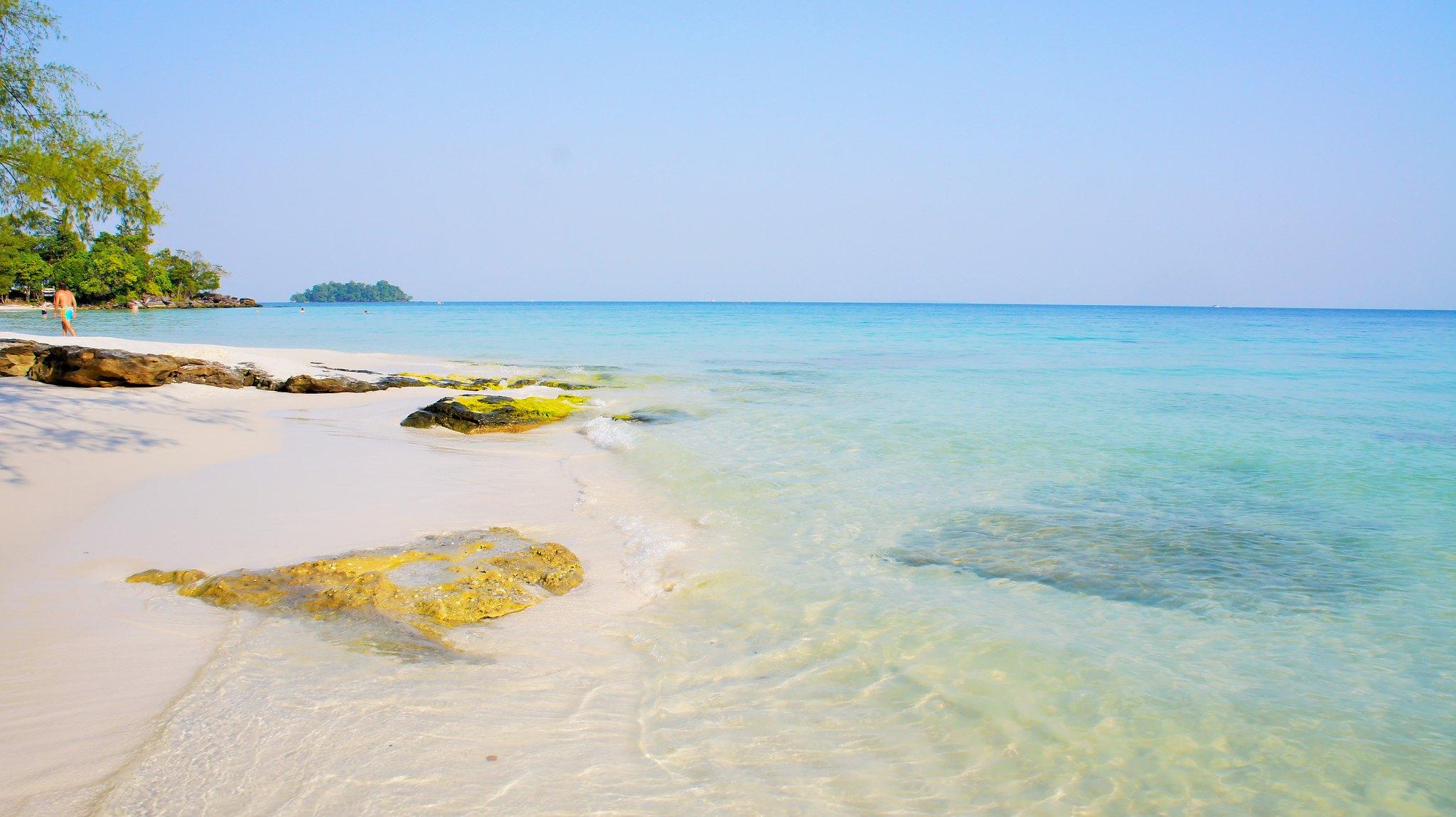 plage de Koh Rong