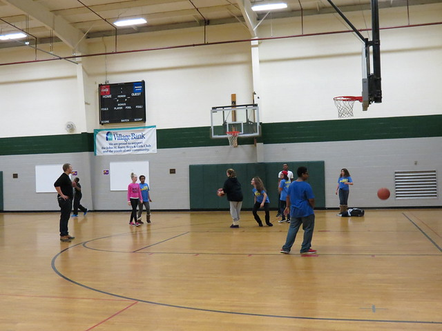 Open Gym at the Boys & Girls Club