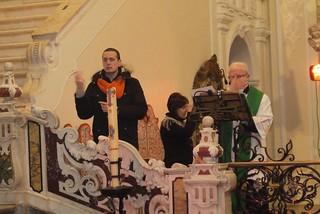 Durante la Santa Messa, la traduzione in LIS