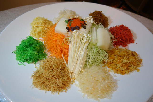 Chinese New Year 2015 Lo Hei Yu Sheng from Yan Ting at St Regis Singapore
