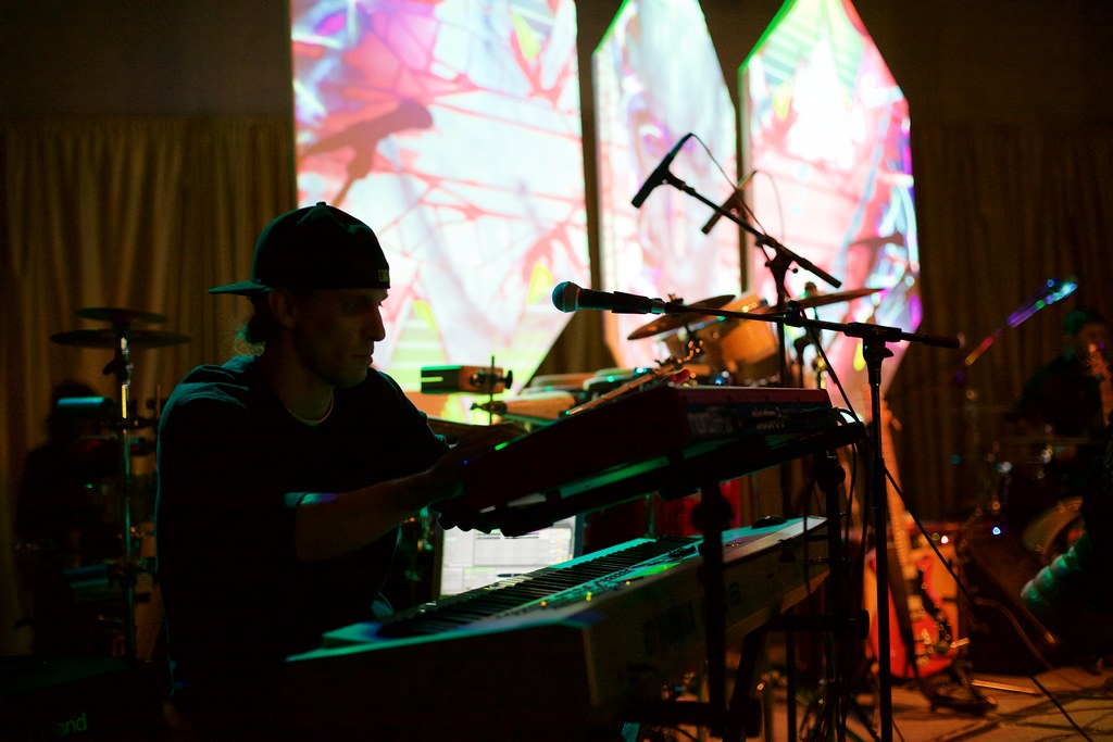 DJEM & Linear Symmetry performing at the Omaha Entertainment and Arts Awards | Feb. 12, 2015