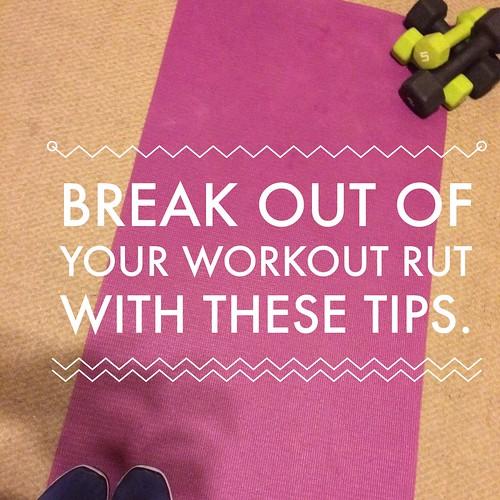 Workout rut