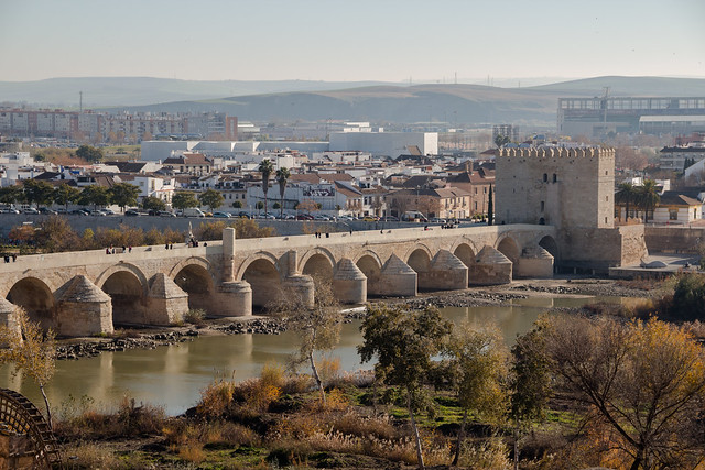 The Roman Bridge - From Afar