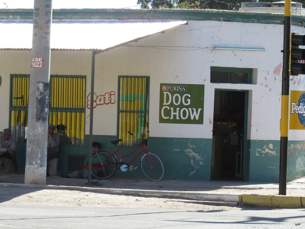 Dog food shop, Argentina