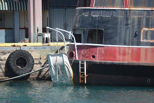 boat needs help