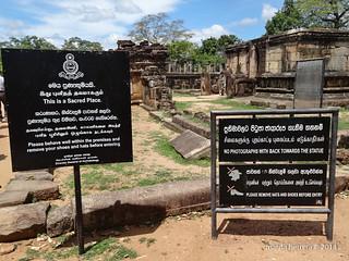 Sri Lanka. Polonnaruwa. Gal Pota.