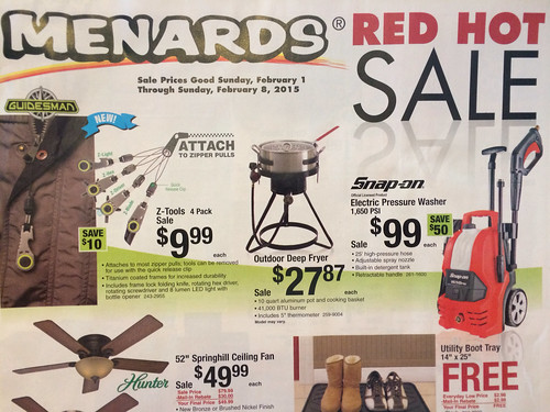 View your Sale B and I Menards online. Find sales, special offers, coupons and more. Valid from Dec 02 to Dec Skip to main content Accessibility View x. Your Next Project Starts Here! Valid Dec 02 - Dec 08 11% Rebate Sale.