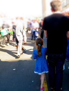 Father Daughter at The Market II