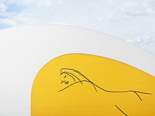 Aviles, Spain: Centro Neimeyer Modern Art Museum