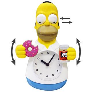 NJ Croce Co.【荷馬3D 動態時鐘】Homer Simpson 經典復刻再現!!你肚子飽了沒?!