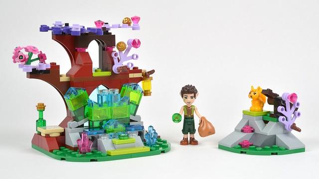 New LEGO Translucent Dark Pink 1x1 Rock 5 Point Crystal Friends Minifigure Piece