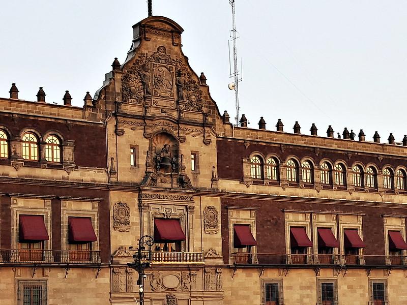 Facades: Palacio Nacional, Mexico City