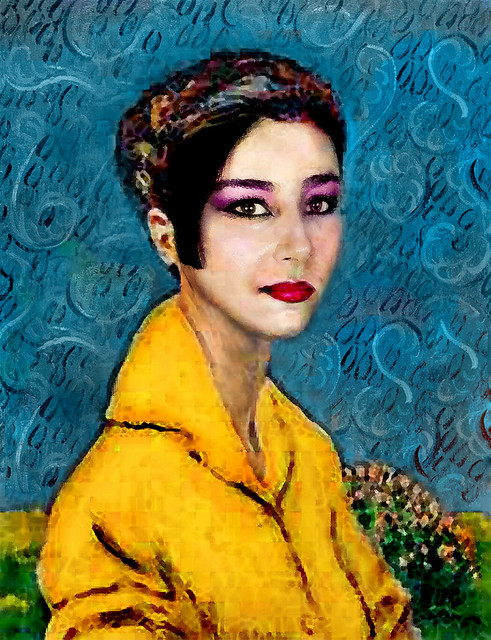Woman in a Yellow Blouse