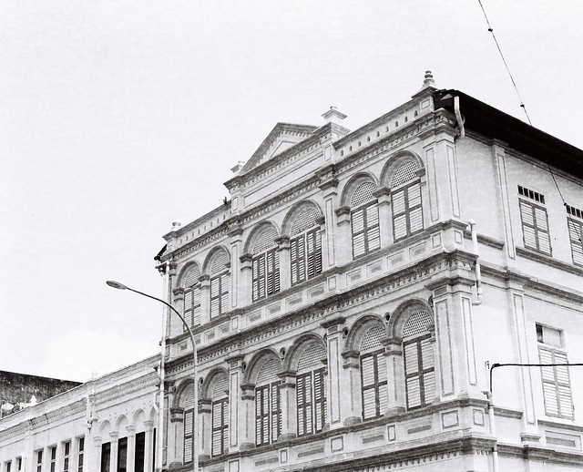 Chung Thye Ping building, Ipoh. Built in 1907 by Chung Thye Ping, the last Kapitan Cina of Perak and Malaya