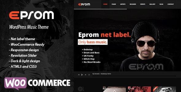EPROM v1.5.4 - WordPress Music Theme