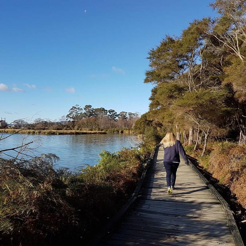 Nice day for a walk... #walk #newzealand #rotorua