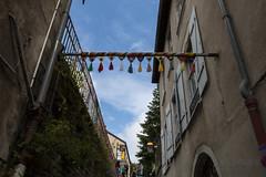 Yarn bombing Besançon 58