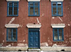 Fasad i världsarvet Visby