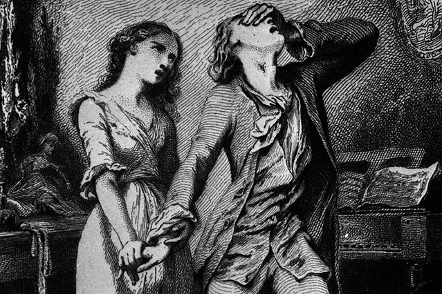 Illustration from the Sorrows of Young Werther