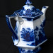 Staffordshire teapot with lid