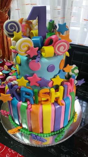 Candyland Themed Cake by Chef Thet Bugay of SweethetsCakes and Pastries