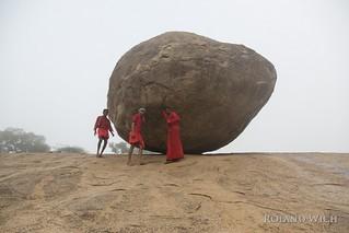 Mahabalipuram - Krishna's Butter Ball