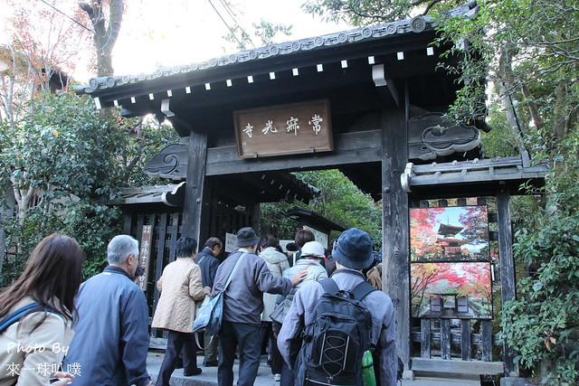 嵐山旅遊景點-常寂光寺01