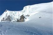 Aufstieg Ortler, 3905 m, über den Normalweg. Foto: Günther Härter.